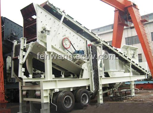 2012 New Multi-Combination Mobile Crusher