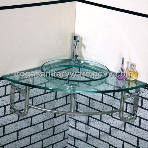 Corner Glass Wash Basin  VS 6043. Corner Glass Wash Basin  VS 6043  purchasing  souring agent   ECVV
