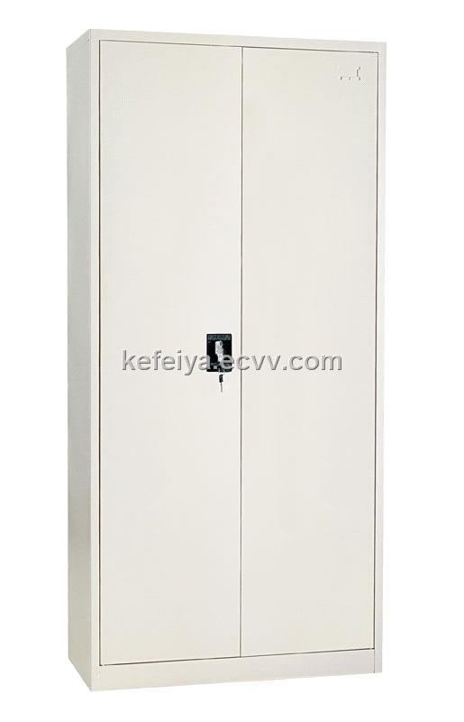 Double Swing Door Steel Filing Cabinet Metal File Cabinet