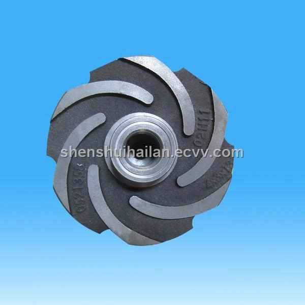 Ductile Iron Grey Iron Centrifugal Pump Impeller