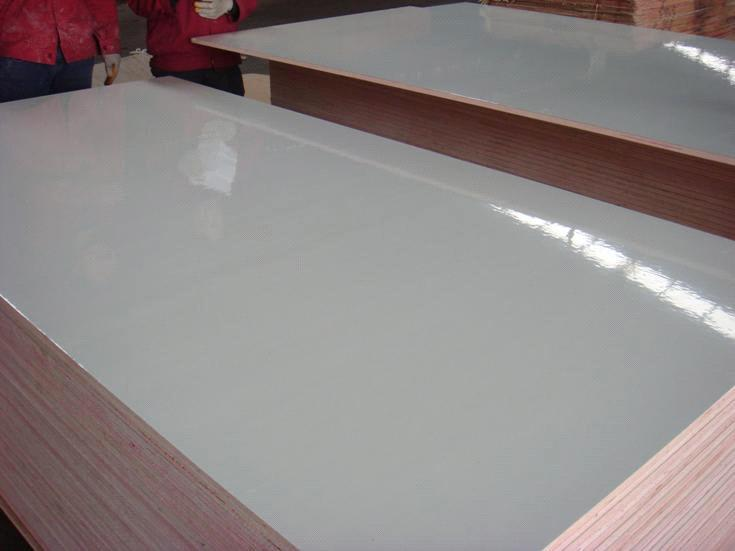 Metal Faced Plywood ~ E grade white color glossy or matt formica fire proof