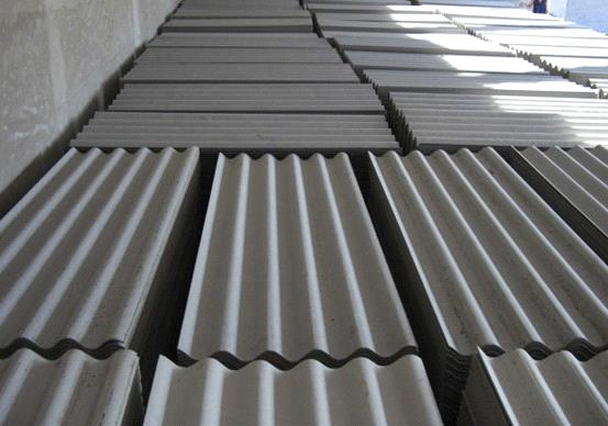 Fiber cement roofing sheet