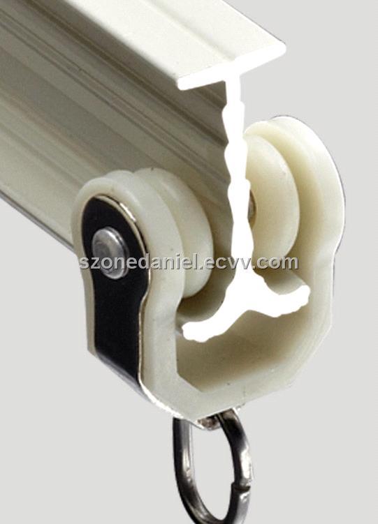 GD46 aluminium alloy flexible curtain track purchasing, souring ...