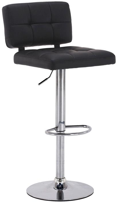 Height Adjustable PU Bar Chair