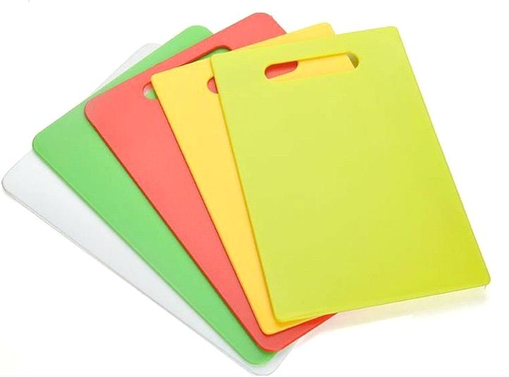 High Quality Thin And Light Weight Rectangle Plastic Cutting Board