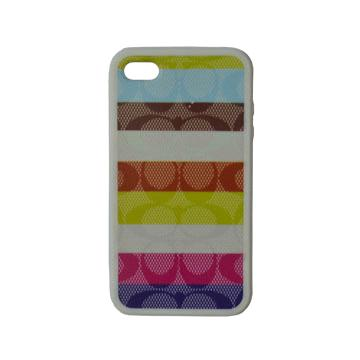 PC case with pattern for iPhone 4S