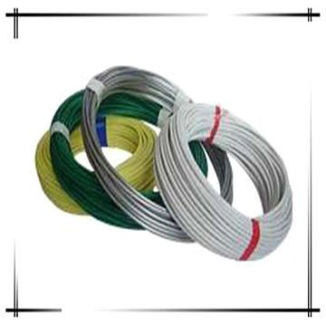 PVC insulation flexible wire, PVC iron wire