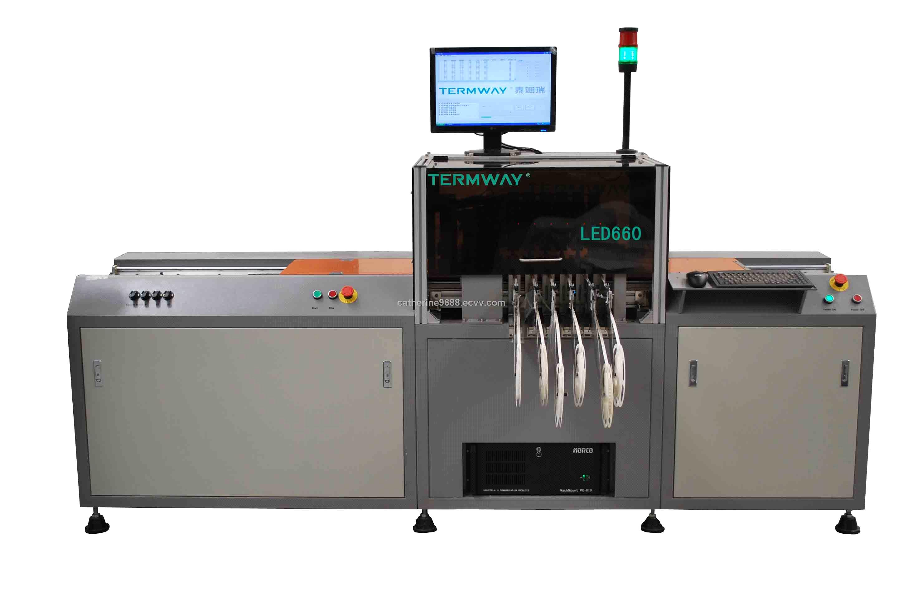 Smt Assembly Line Pcb Led Automatic Chip Mounter Inverter Welding Board Cutting Machine Circuit Industry Model Led660