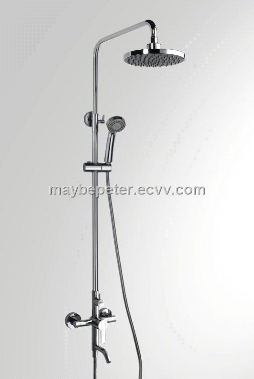 Shower Bath Taps Combined single handle rain-shower combination 2 function(90degrees of