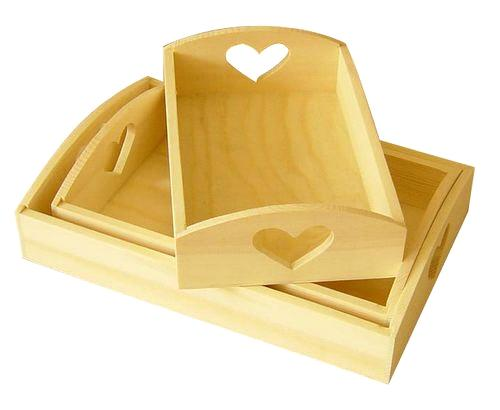 Table Decorations Wooden Tray