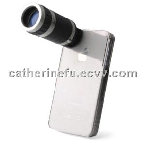 Telescope 6X Zoom Camera + Case Holder for iPhone 4 / 4S