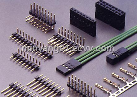 Marvelous 2 54Mm Pitch Wire To Board Pin Headers Connectors From China Wiring Database Ioscogelartorg