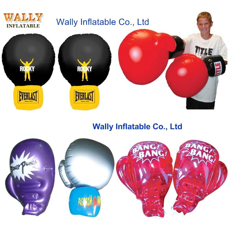 inflatable glove, PVC hand gloves, inflatable boxing punching gloves, inflatable punching toy