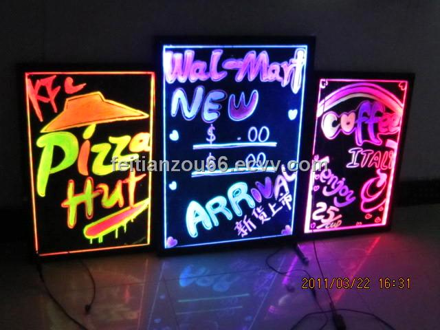 led writing board of 28 light model purchasing  souring