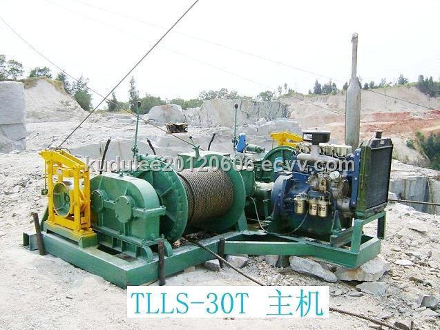 winch for quarry