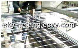 Automatic Wire Cutting Straighting and Welded Wire Mesh Making Machine / Weaving Machine