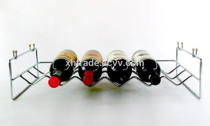 Iron Wire Wine Rack, Steel Wine Bottle Holder purchasing, souring ...