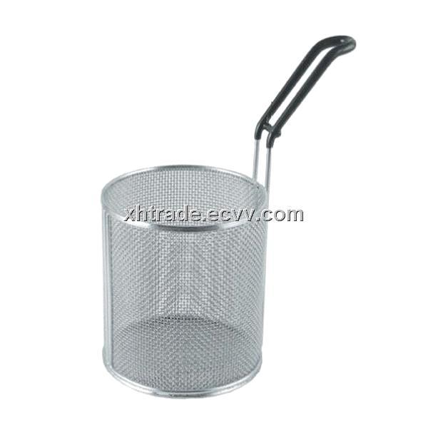 Pasta Basket,Pasta Cooker Basket,Stainless Steel Wire Mesh Kitchen ...