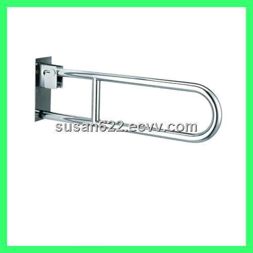 ss swing up grab bar for handicapped wc
