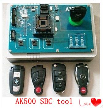 AK500 Key Replacement Key Programmer For Mercedes Benz SBC Tool