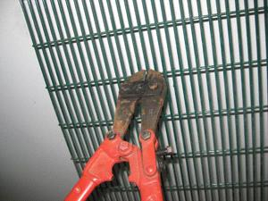 Anping wire mesh welded 358 fencing system specification