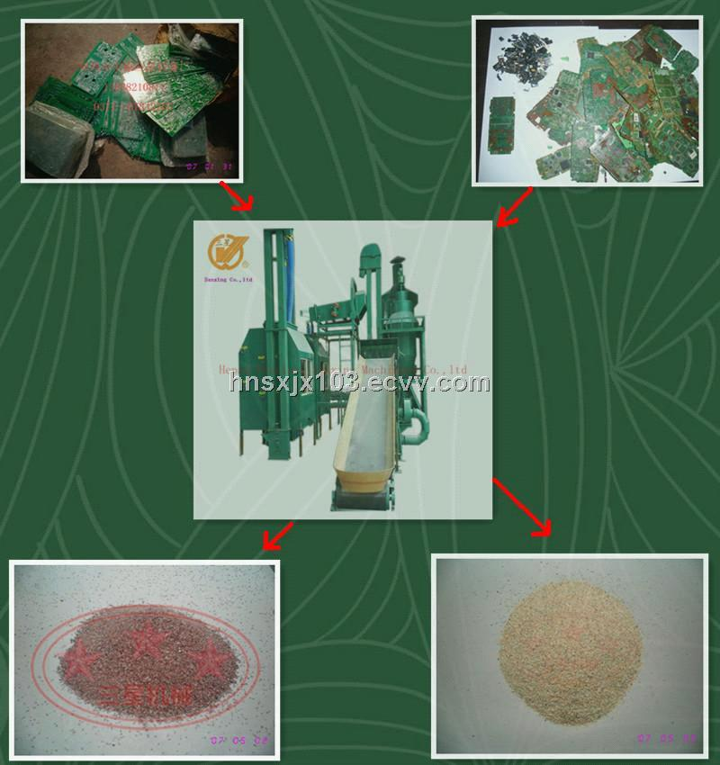 Best selling HNSX-1002  waste pcb recycling machine
