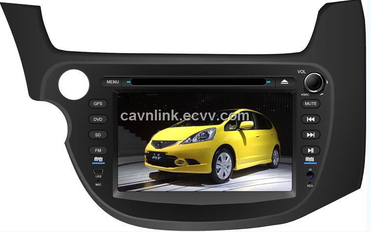 CL-3011,HONDA FIT Year 2012 Car GPS DVD Player; 7'' Screen;full touch control;