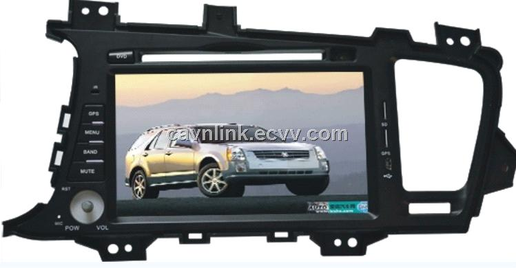 CL-3021,Car GPS DVD Player for KIA K5; 8 inch Screen;