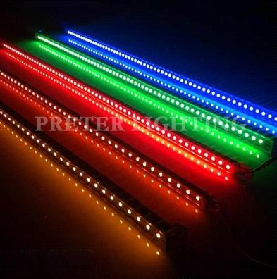 High power 30pcs rgb red green blue aluminum waterproof led light high power 30pcs rgb red green blue aluminum waterproof led light bar 72w 144 aloadofball Image collections