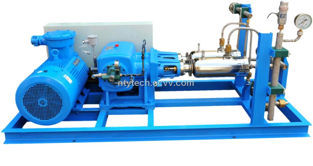 High Pressure Gas Compressor : High pressure cylinder filling pump of liquefied natural