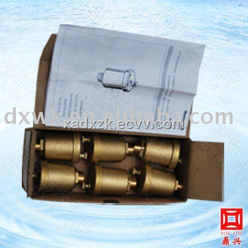 Honeywell E121 Brass horizontal exhaust valve