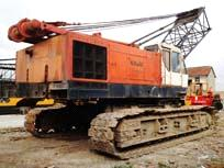 Hot Japan Hitachi Crawler Crane 80Ton (KH300)