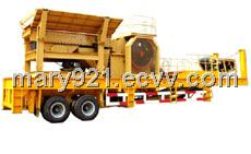 Jaw crushing plant with high quality