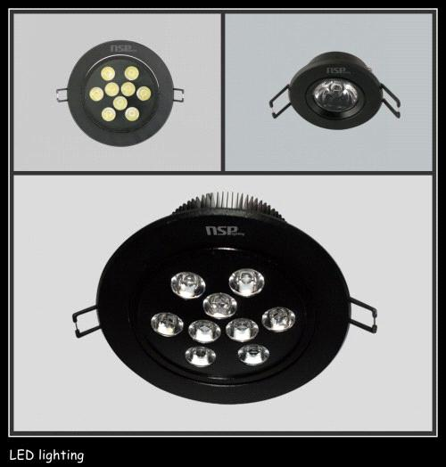 LED ceiling lamp 3W/5W/7W