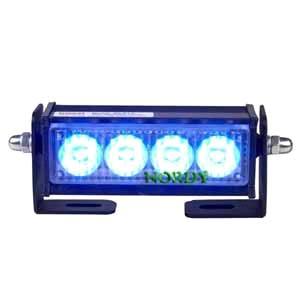 LED warning strobe light bars police car light 2W DC12V blue