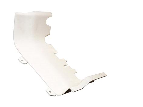 Left/Right lower foot pedal shield