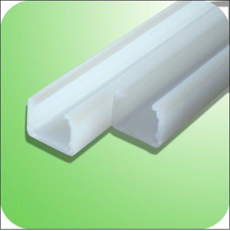 New craft plasitc pvc rainwater gutters,u-shaped plastic profile