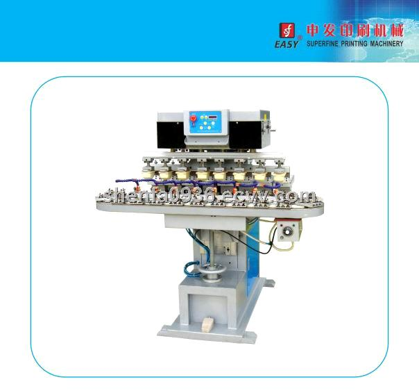 SF-M8/C Eight -Colors Pad Printing Machine