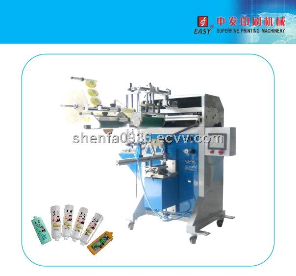 SF-SL400 Semi-Auto Cylinder Labeling Machine