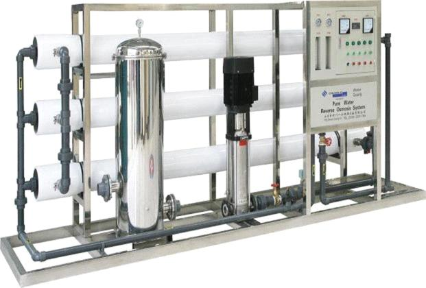 Soda water treatment production equipment