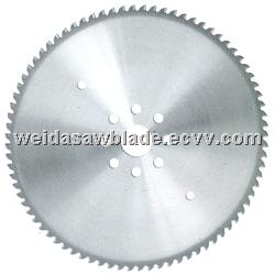 TCT saw blade for steel pipe
