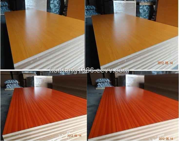 White Colored Wood Color Mdf Board