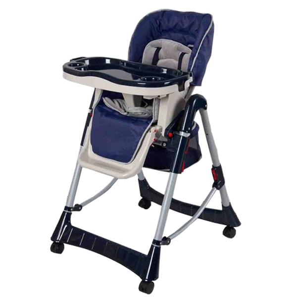 Merveilleux Ajustable Baby Feeding High Chair With Wheels