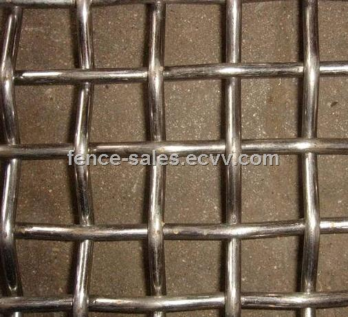 Galvanized Low Carbon Steel Crimped Wire Mesh