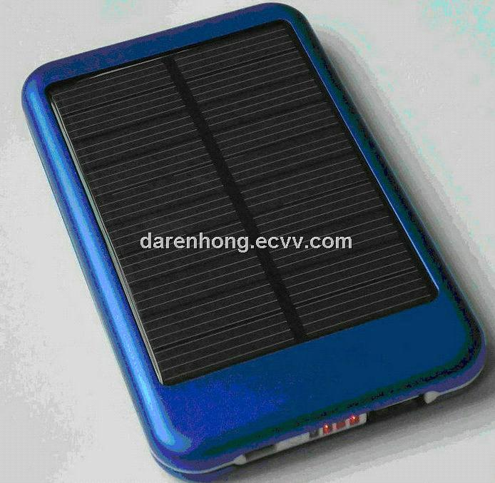 Solar Portable Power Bank for iPhone, iPad, camera, bluetooth
