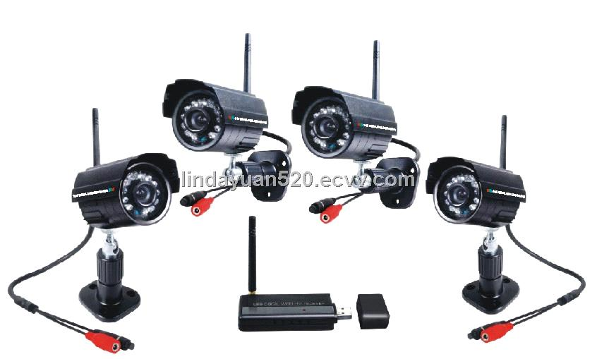 2.4GHz wireless ip camera