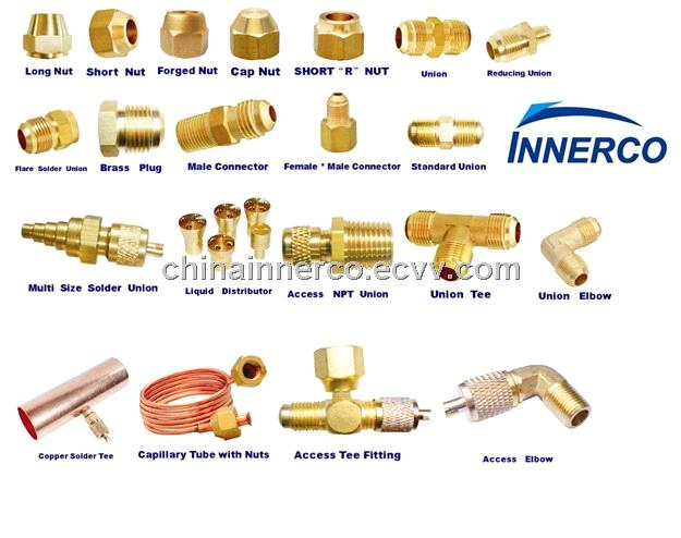 Brass access fitting purchasing souring agent ecvv