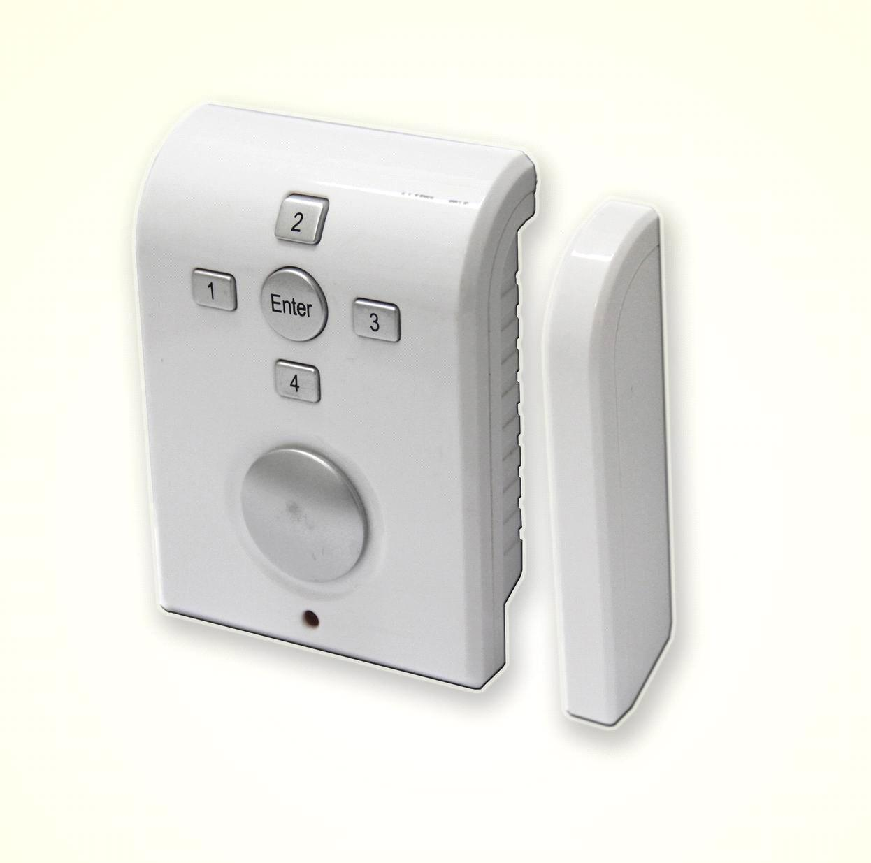 Door and window sensor alarm