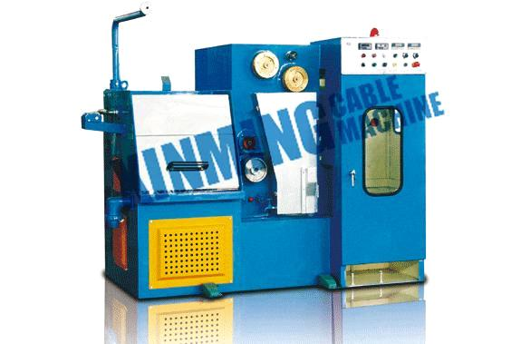 Intermediate & fine wire drawing machine with annealer