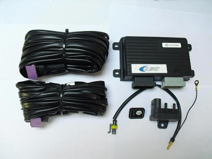 LPG/CNG Mach Pro ECU Set, Included Harness, Micro-Switch, Temperature Sensor, Map Sensor